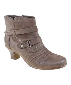Look what I found on #zulily! Bark Wayward Leather Bootie by Earth #zulilyfinds