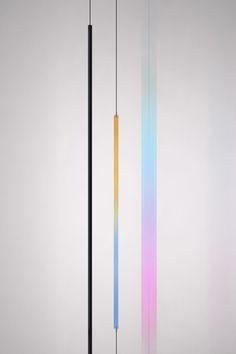 Milan: Blush Lamp and Wire Ring by Formafantasma for FLOS