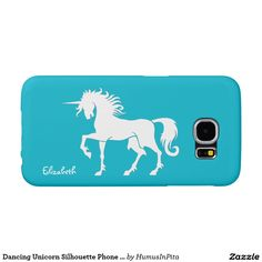 Dancing Unicorn Silhouette Phone Case Samsung Galaxy S6 Cases