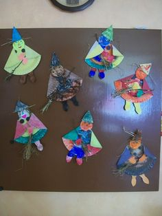Arts And Crafts, Paper Crafts, Halloween Crafts For Kids, Wizards, Witches, Art For Kids, Recycling, October, Spring