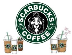 The Best Selection of Disney Starbucks SVG Files for Cricut & Silhouette Deco Disney, Disney Diy, Disney Crafts, Disney Love, Disney Pixar, Arte Starbucks, Disney Starbucks, Starbucks Logo, Starbucks Coffee