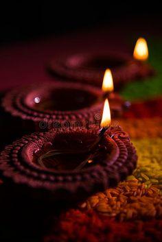 Beautiful Diwali Diya Or Oil Lamp Or Lighting, Selective Focus Stock Image - Image of fire, diya: 77393903 Lit Wallpaper, Unique Wallpaper, Diwali Wishes, Happy Diwali, Diwali Photography, Indoor Photography, Indian Inspired Decor, Indian Aesthetic, Red Aesthetic