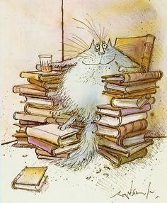 libraryphantomg5:  nancyrivers:    thingswoolike:    childrensbooks:    Ronald Searle  via Animalarium