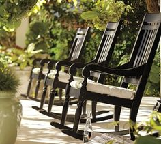 Rocking Chairs...great for lazy days of summer