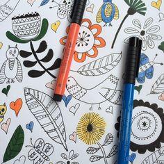 """creativebugstudio: """"#cbugsketchbook #creativebug @lisacongdon work in progress #art #journal by melaniem8 http://ift.tt/1KQE5QC """""""