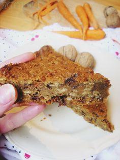 wege ciasto marchewkowe bez cukru zdrowe