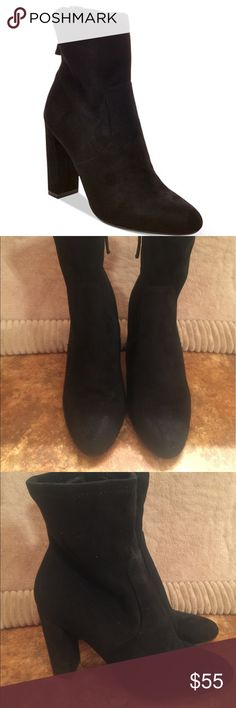 Steve Madden Edit Sock Bootie Black Size 7.5 Steve Madden Edit Sock Bootie Black Size 7.5.  New display shoe. No box. Steve Madden Shoes Ankle Boots & Booties
