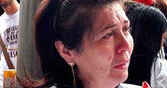 La madre del diputado suplente por la Mesa de la Unidad Democrática, Rosmit Mantilla, detenido en el Servicio Bolivariano de Inteligencia Nacional desde m