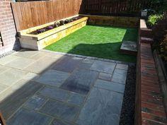 Garden Makeover, Landscaping, Sidewalk, Building, Side Walkway, Buildings, Sidewalks, Landscape Architecture, Garden Design