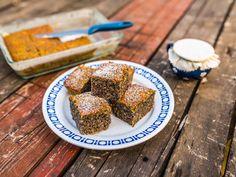 Bögrés mákos sütemény recept lépés 8 foto Healthy Sweets, Gourmet Recipes, Sugar Free, Great Recipes, French Toast, Cereal, Goodies, Food And Drink, Cooking