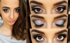 Lavender love   #eyes #eyemakeup #spring #beauty - bellashoot.com