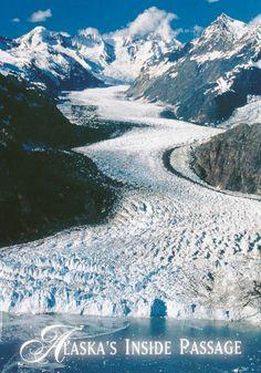 Alaska's Inside Passage - Aerial view of Margerie Glacier, Glacier Bay National Park, Alaska. Photo: John Hyde done that! Alaska Travel, Travel Usa, Alaska Usa, Gaudi, Places To Travel, Places To See, Glacier Bay Alaska, Glacier Bay National Park, Camping