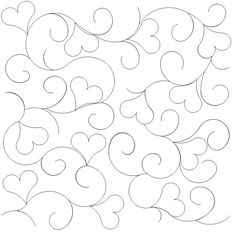 Heart in a Swirl - 1338 - $.0125 by lauri