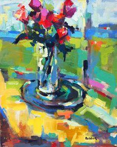 Page Railsback - Colorful #floral #botanical #art