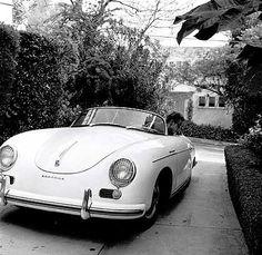 James Dean and his 1955 Porsche 356