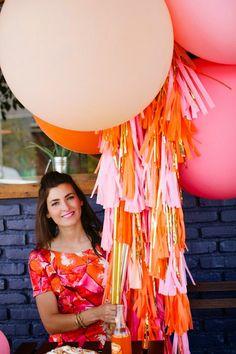 Geronimo Balloon Lollies next birthday party. Giant Ballons, Big Balloons, Custom Balloons, Round Balloons, Orange Party, Diy Kit, Balloon Decorations, Balloon Ideas, Geronimo