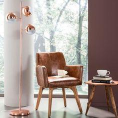 lámpara de pie Calotta Copper | Tiendas On