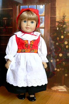 Colonial Doll Dresses: Early American Girl Doll Clothes, Shoes, Doll Furniture and Accessories From Sew Dolling