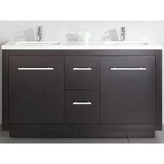 Costco: Cubix 60-in. Double Vanity $1390 s/h incl