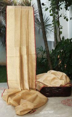 Gold tissue weave from Benaras. Description by Pinner Mahua Roy Chowdhury.