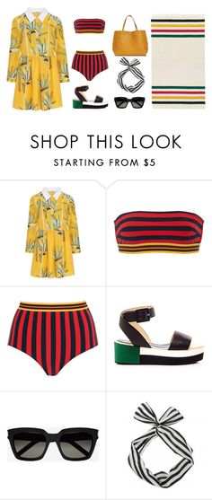 """""""Untitled #363"""" by dudejunk ❤ liked on Polyvore featuring Fendi, STELLA McCARTNEY, Palomitas by Paloma Barceló, Yves Saint Laurent, Pendleton and Packandgo"""