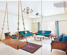 Amazing Living Room Designs Indian Style, Interior and Decorating Ideas Modern Indian Home Decor, Interior Design Indian Style, Living Room Indian Style, Indian Style Decorating Ideas Living Room Small, Home Living, Living Room Decor, Modern Living, Modern Couch, Luxury Living, Indian Interior Design, Interior Design Minimalist, Interior Modern