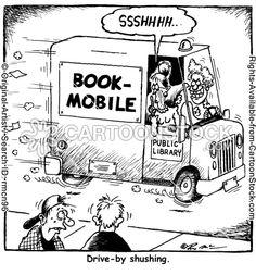It's a drive-by shushing!