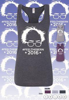 Bernie Sanders Shirt, Feel The Bern, Elect Bernie, Anti Trump, Democrat, Hindsight Is 2020, For President, Election, Hoodie Sweatshirt