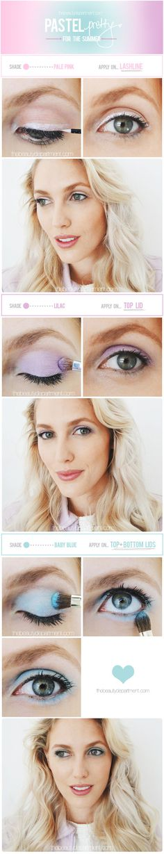 Spring into Summer with a pastel eye!