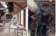 RESTAURANT NOMA Copenhagen, Denmark 2018 Creating the interior design of 11 individual buildings comprising the new home of Noma, four times. Restaurant Noma, Restaurant Ideas, Big Architects, Modern Agriculture, Hotels, New Nordic, Terrazzo Flooring, Restaurant Interior Design, Interior Shop
