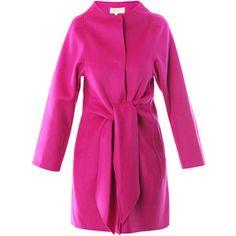 Fushia Coat Virginia Johnson