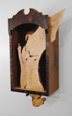 Pierced Clock | Northwest Woodworkers Gallery