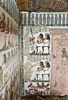 Amerikaanse archeologen hebben in de Egyptische stad Luxor een tombe van een farao ontdekt die meer dan 3.000 jaar oud is, met muurschilderingen in een zeer goede staat.  De tombe dateert uit de 18de dynastie, uit het Nieuwe Rijk (1550-1070 voor Christus). Op de gekleurde muurschilderingen staan scènes uit het dagelijkse leven en afbeeldingen van feestelijkheden.