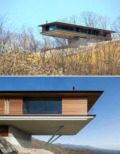 Cantilevered House in Yatsugatake - Kidosaki Architects Studio