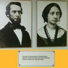 Queen's Medical Center ~ History Display ~ Honolulu, Hawaii