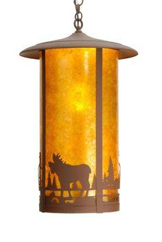 "Meyda 28792 - 15.5""W Fulton Moose Creek Pendant Light"