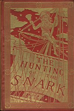 The Hunting Of The Snark, by Lewis Carroll. Published by Macmillan, 1898 version, illustrated by Henry Holiday.