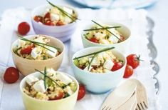 Whether you'd like to serve this salad for lunch as a main or a side dish alongside your BBQ meat, you can't go wrong with this easy peasy couscous salad. Save this recipe: Couscous salad