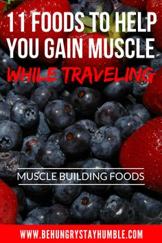 It can be very difficult to keep your nutrition on track when you travel, but it doesn't have to be. Check out this article for a list of 10 healthy muscle building foods to make sure you have packed before your next trip! Muscle Building Women, Muscle Building Foods, Muscle Building Workouts, Nutrition Store, Nutrition Tips, Diet Tips, Proper Nutrition, Food To Gain Muscle, Build Muscle