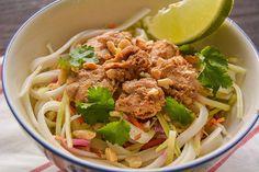 Thai Cold noodle Salad