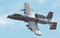 Télécharger fonds d'écran Fairchild Republic A-10 Thunderbolt II, A-10C, American avions d'attaque, le combat de l'aviation, de l'US Air Force, avions militaires, les états-unis