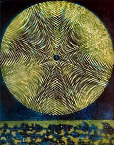 Birth of a galaxy, 1969 by Max Ernst, Second French period. Surrealism. symbolic painting. Galerie Beyeler, Basel, Switzerland
