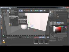 CINEMA 4D - Ambient occlusion tutorial - part 1, base settings and ambient light