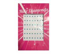 Blue hair diamonds  www.hairchalk.co.uk £2.79