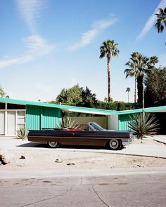 Caddy, Palm Springs, 2016. Jim Ryce.