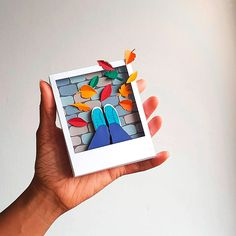les_miscellanees_du_canape_Polapaperbox—automne_640 3d Paper Art, Paper Artwork, Paper Crafts Origami, Diy Papier, Paper Illustration, Kirigami, Paper Design, Diy Art, Paper Cutting