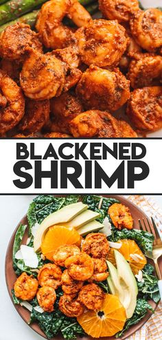 This blackened shrimp recipe is perfect for a quick weeknight dinner! Ready in less than 30 minutes, these tender, juicy shrimp are perfect for salads, tacos or even your favorite pasta dish. #shrimp #seafood #recipes Quick Easy Dinner, Quick Weeknight Dinners, Pasta Dinner Recipes, Shrimp Recipes, Salmon Stir Fry, Blackened Shrimp, Dinner This Week, Fresh Seafood, How To Cook Shrimp