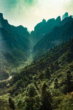 Tianmen Mountain National Park, #Zhangjiajie, #China