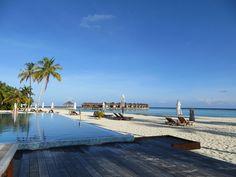 Maafushivaru, south Ari atoll, Maldives  Hôtel géré par Kuoni.