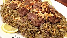 صورة الفريكة باللحم بالفخارة Meat Recipes, Healthy Recipes, Healthy Food, Palestinian Food, Middle Eastern Recipes, Arabic Food, Food And Drink, Lunch, Beef